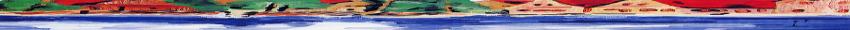 Gemälde des Zentrums von Büchenbach