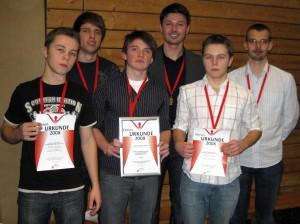 Die 1.Jugendmannschaft