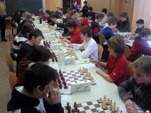 Jugendliche Schachspieler
