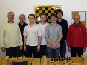 Mannschaft und Vereins-Funktionäre