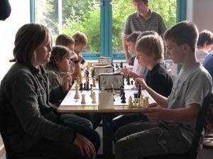 Schach am Gymnasium